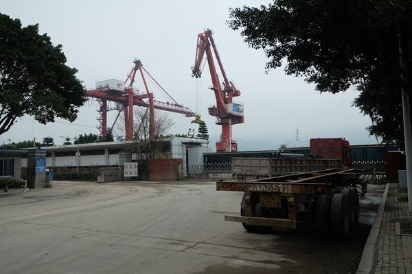 DSCF4068 - 【自転車旅行】中国・福州港馬尾から台湾・馬祖南竿島・福澳港の船に乗船、海路国境越えを自転車とする